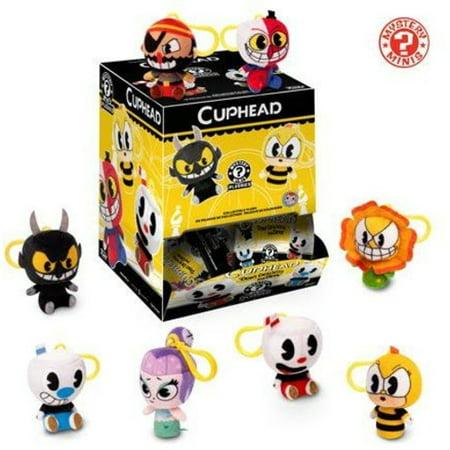 Baby Plush Keychain - FunKo POP! Keychain, Mystery Minis Plush Cuphead Mystery Pack