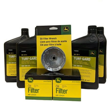 Oil Change At Walmart >> John Deere Double Oil Change Kit Including Oil Filter Wrench 4 Ty22029 2 Am125424 Ty26640