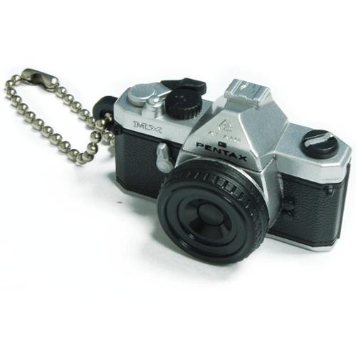 Pentax Capsule Mini Camera Keychain MX Silver Camera