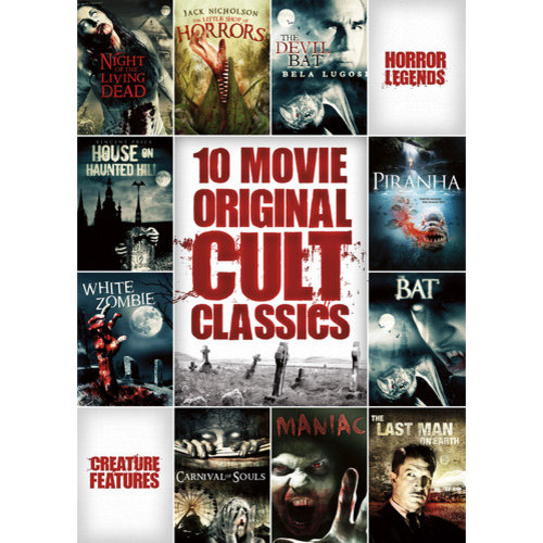 10 Movie Horror Cult Classics Collection