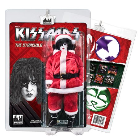 KISS 8 Inch Limited Edition Action Figure Christmas Series: The Starchild (Starchild Kiss)