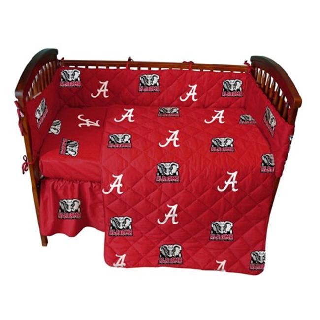 College Covers ALACS Alabama 5 piece Baby Crib Set