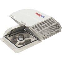 RV Vent Cover MaxxAir Fan Mate Model 855 White 00-955001
