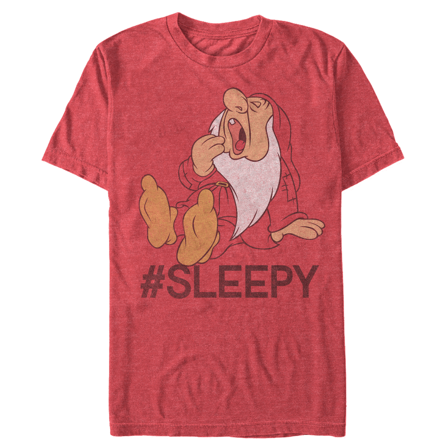 Snow White and the Seven Dwarves Men's #Sleepy T-Shirt