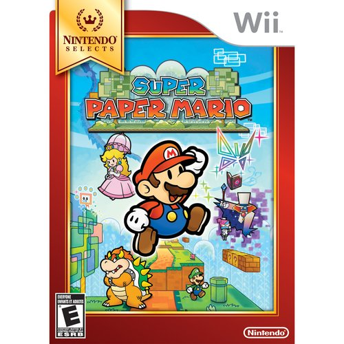 Super Paper Mario - Nintendo Selects (Wii)