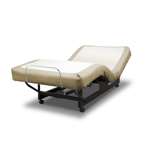 med-lift deluxe adjustable bed - walmart