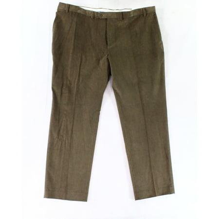 Lauren by Ralph Lauren NEW Brown Mens 42X30 Corduroys Stretch Pants
