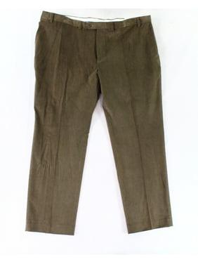 f12d26d7 Product Image Lauren by Ralph Lauren NEW Brown Mens 42X30 Corduroys Stretch  Pants