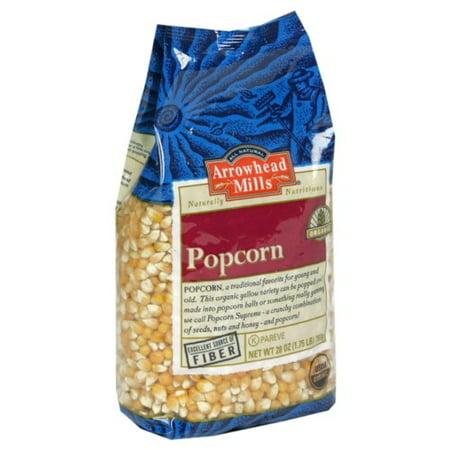 Gourmet Organic Popcorn (Arrowhead Mills Organic Yellow Popcorn, 28 Oz)