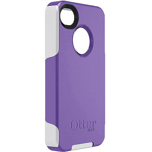 OtterBox Commuter Case for iPhone 4 4S Purple /White * Cover OEM Original