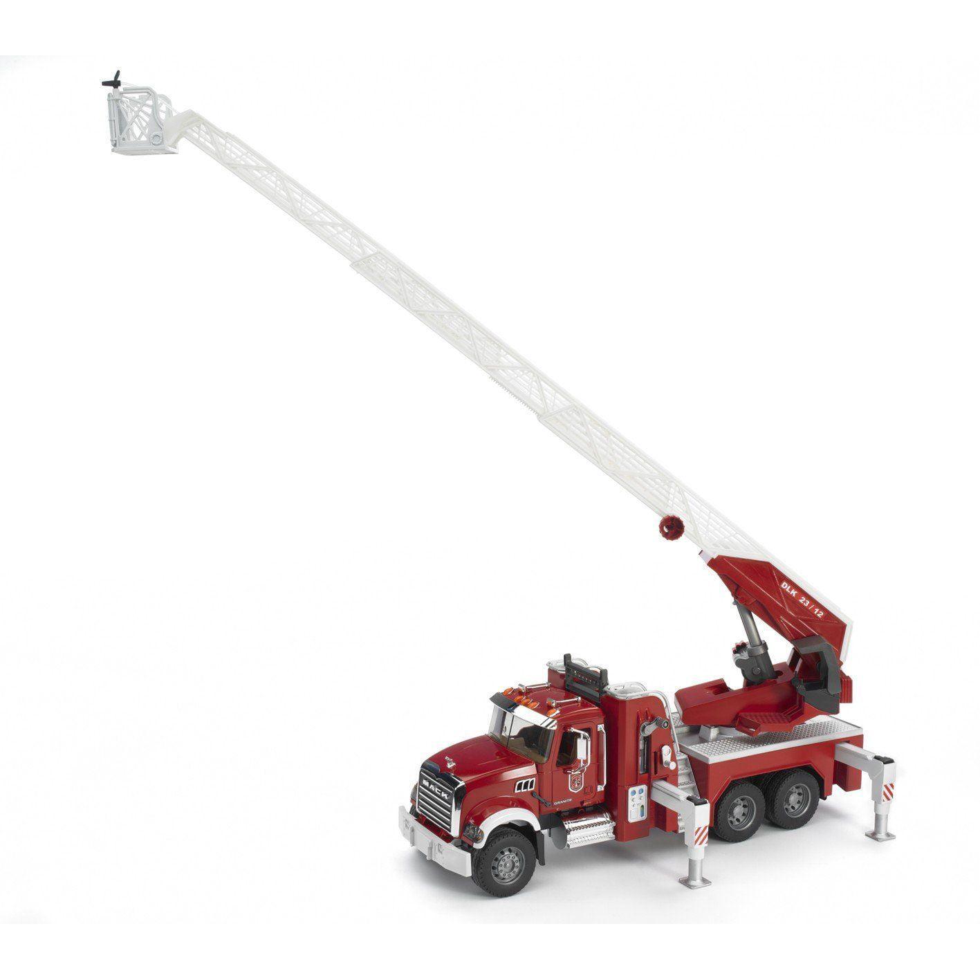 Fire Engine Mack Granite Vehicle Toys by Bruder Trucks (02821) by Bruder Trucks