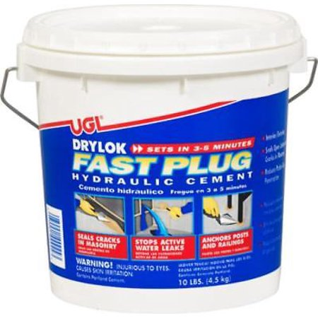 Drylok 10 LB Interior Exterior Fast Plug Fast Setting Only One
