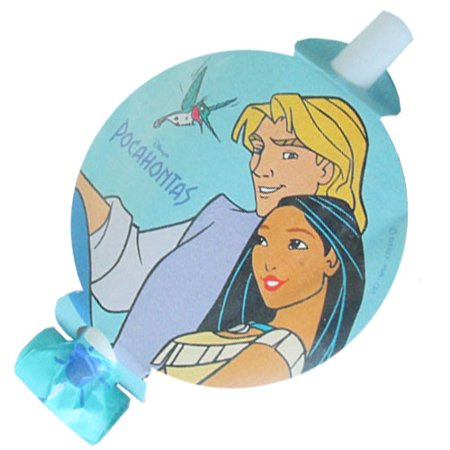 Pocahontas and John Smith Vintage 1995 Blowouts / Favors (8ct)