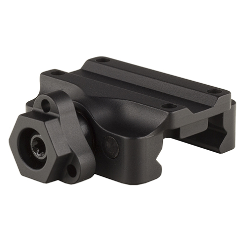 Trijicon Miniature Rifle Optic (MRO) Mount Low Weaver Quick Release, Black by Trijicon