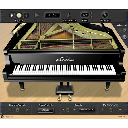 Acoustica Pianissimo Virtual Piano software download