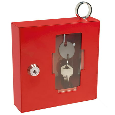 Barska Breakable Emergency Key Box with Attached Hammer A Style