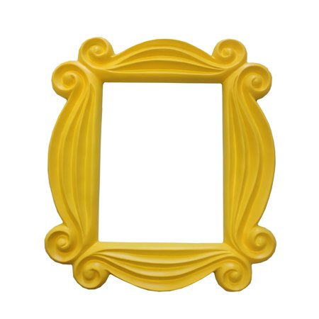 Friends Yellow Peephole Picture Frame Door TV Show Monica Hanging F-R-I-E-N-D-S