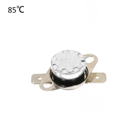 5pcs KSD301 Thermostat Temperature Switch 250V 10A NO Normally Opened