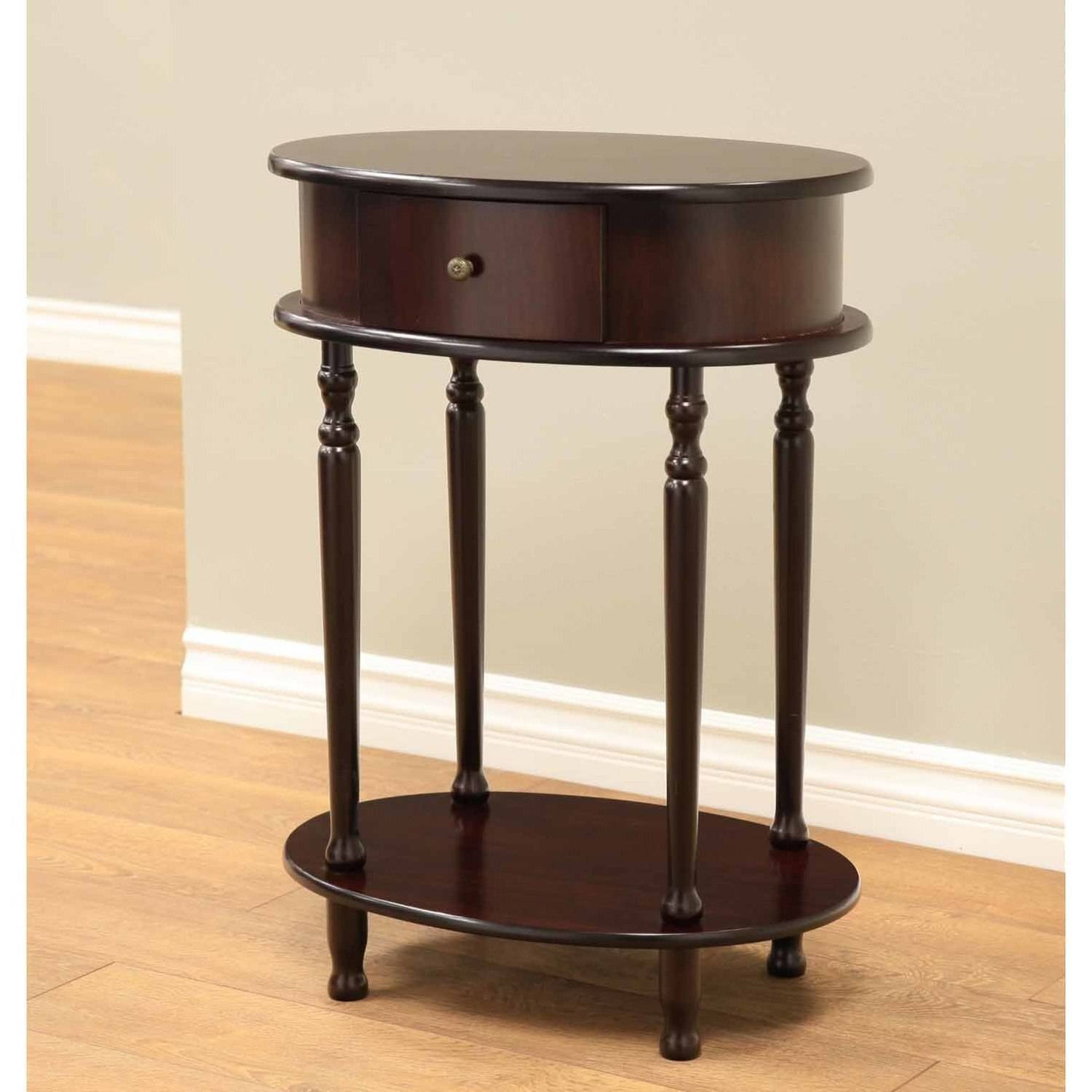 Home Craft Oval End Table