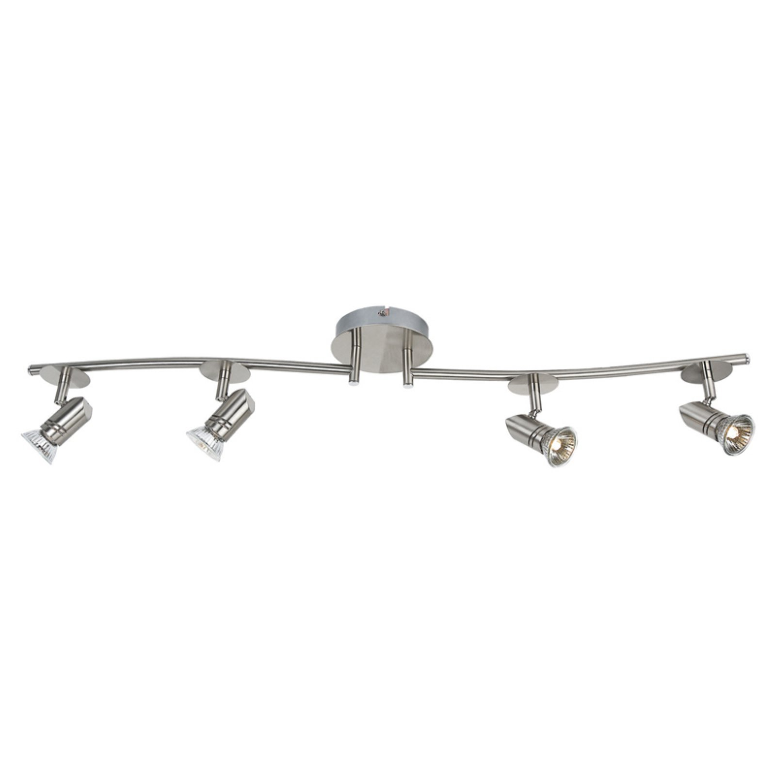 Catalina Lighting Four Light Fixed Track Light with Adjustable Arms by Illuminada
