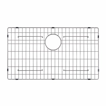 "Stainless Wire Bottom Grid - KRAUS KBG-100-30 Stainless Steel Bottom Grid for KHU100-30 Single Bowl 30"" Kitchen Sink, 27 ½"" x 15 11/16"