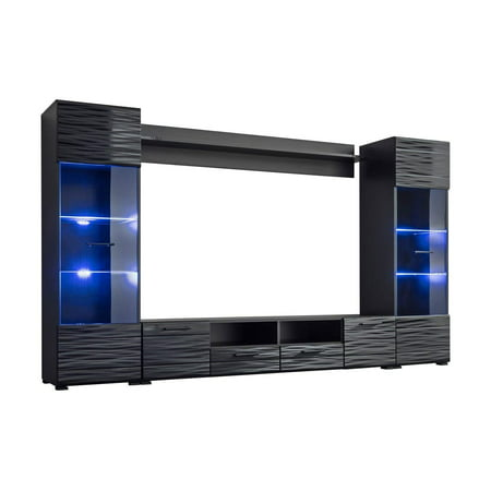 Entertainment Center Unit - Modica Modern Entertainment Center 65