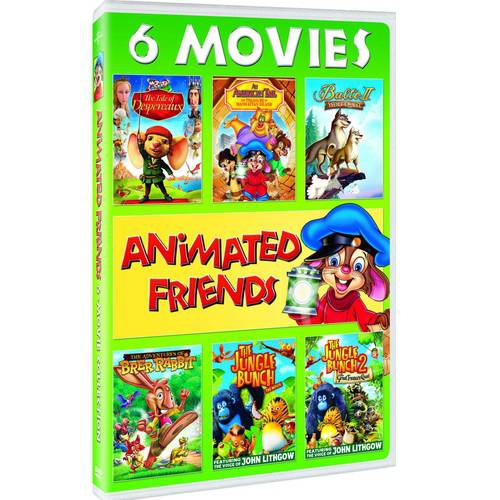 Animated Friends 6-Movie Collection by Universal