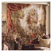 Tapestries, Ltd. Abusson Hand-woven Palace Urn & Drape Tapestry