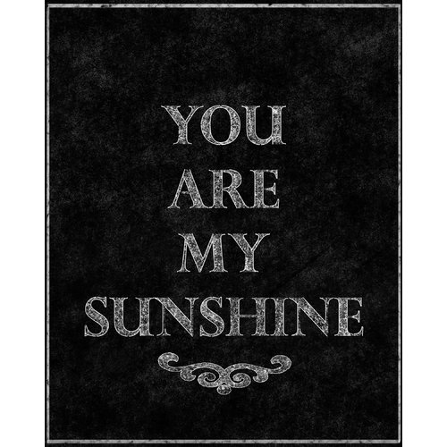 PTM Images You Are My Sunshine Textual Art on Wrapped Canvas