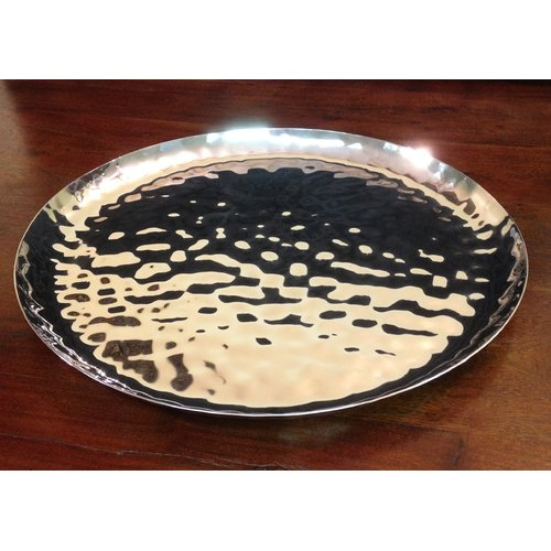 William Sheppee Silom Round Serving Tray by William Sheppee