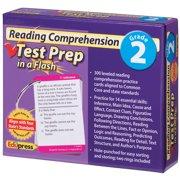 Reading Comprehension Test Prep in a Flash - Grade 2