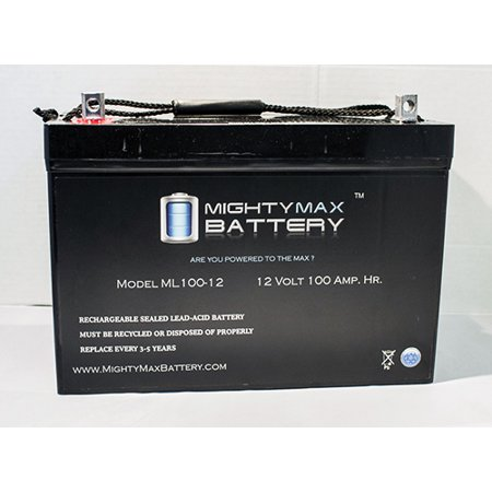 12V 100Ah Sla Battery Replaces Apollo Nt M12etl Swing Gate
