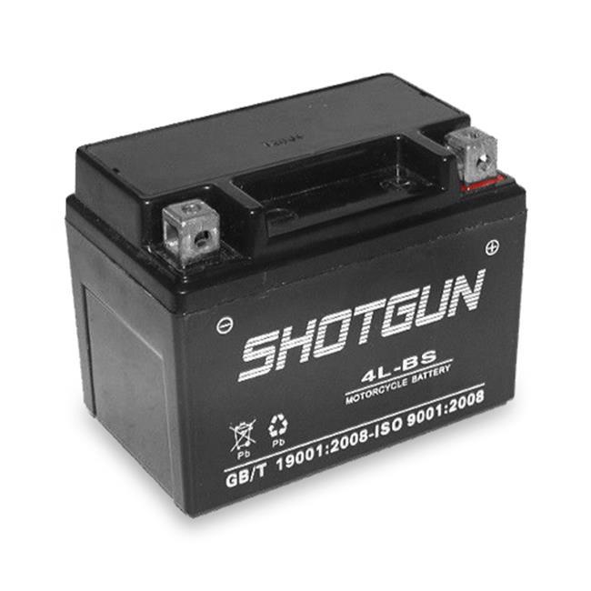 BatteryJack 4L-BS-SHOTGUN-14 YTX4L - BS SLA Battery 12 V Powersport Motorcycle Scooter Shotgun