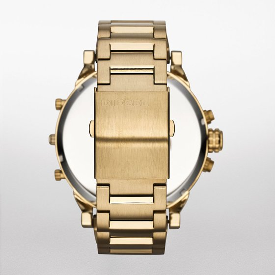 3016af96aae0 Diesel - Men s Mr. Daddy 2.0 Gold-Tone Stainless Steel Watch - Walmart.com