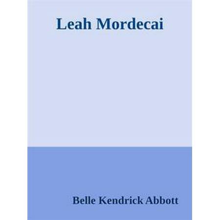Leah Mordecai - eBook