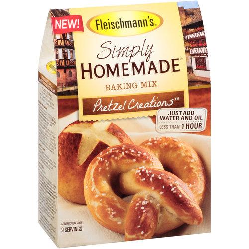 Fleischmann's Simply Homemade Pretzel Creations Baking Mix, 16.8 oz