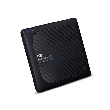 WD 4TB My Passport Wireless Pro Portable external Hard Drive - WiFi USB 3 0  -