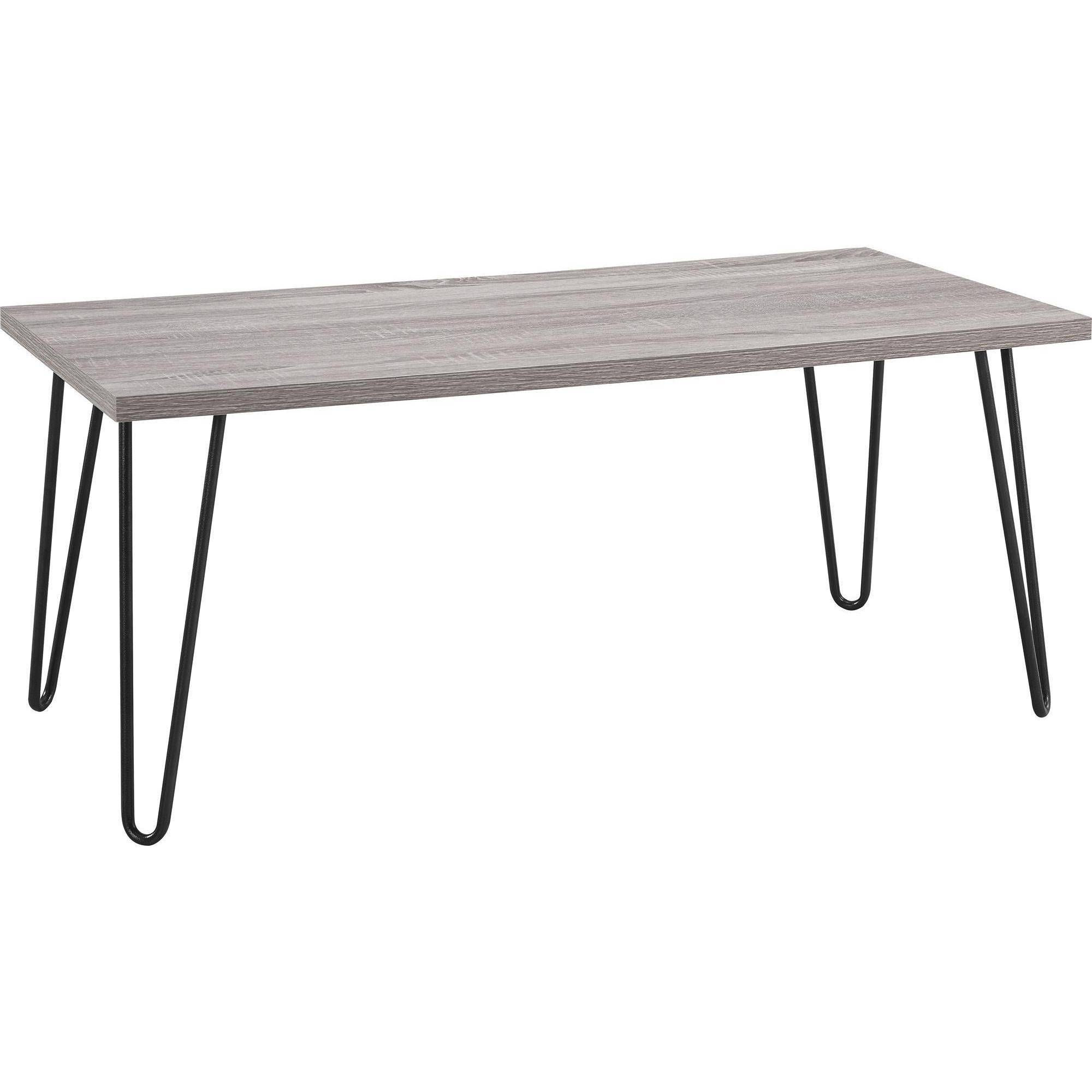 Oak Coffee Table Caring And Maintenance Tips Ameriwood Home Owen Retro Coffee Table, Distressed Gray Oak-Gunmetal Gray -  Walmart.com