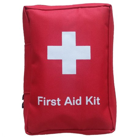 Medical Field Kit Bag (SadoMedcare Classic All in One Complete First Aid Kit - 72 pieces Medical Kit, Travel Emergency Kit, Hiking First Aid Kit, Emergency Survival Go Bag, Size Small )