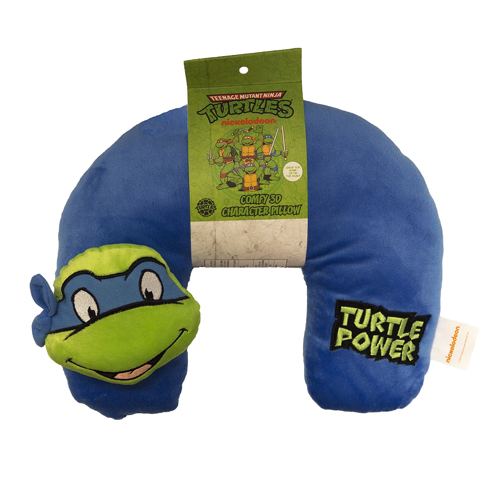 Teenage Mutant Ninja Turtles 3D Character Travel Neck Pillow by Nickelodeon