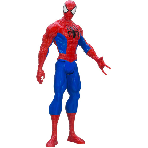 "Marvel Ultimate Spider-Man Titan Hero Series Spider-Man 12"" Action 12"" Action Figure"