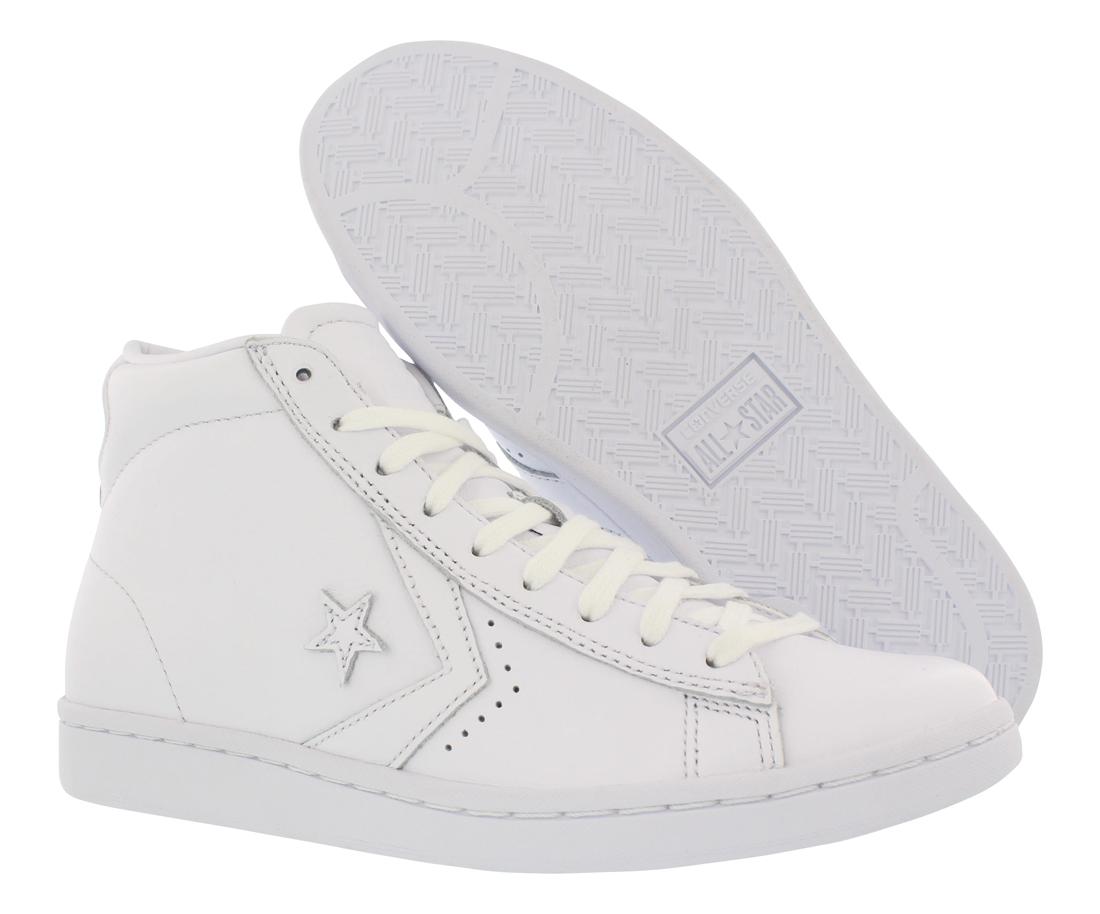 35e9fced325 Converse - Converse Pro Leather Mid Athletic Women s Shoes Size -  Walmart.com