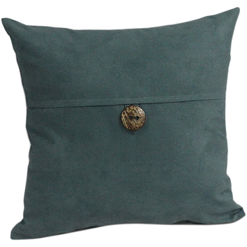 Superior Mainstays Envelope Cord With Button Decorative Pillow, Teal