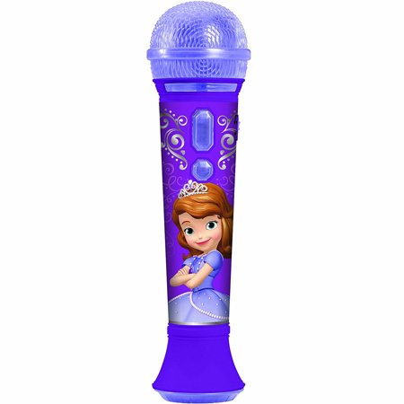 KIDdesigns Sofia the First Time to Shine MP3 Microphone Kids Toy