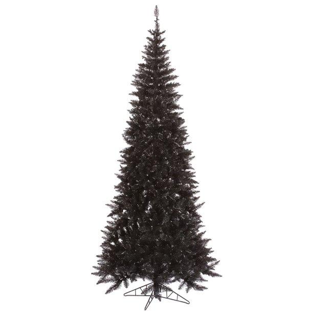10' Medium Black Fir Artificial Christmas Tree - Unlit ...