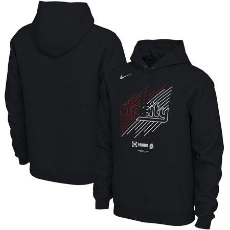 e520a2339 Portland Trail Blazers Nike 2019 NBA Playoffs Bound Team Mantra Pullover  Hoodie - Black - Walmart.com