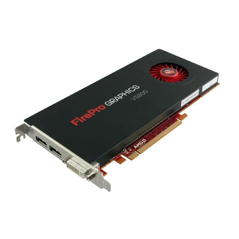 Refurbished AMD FirePro V5900 2gb GDDR5 256-bit PCI Express 2.1 x16 Full Height Video Card