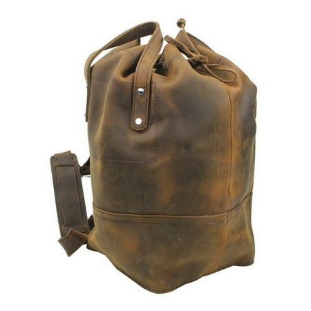 a560973c4d1d V. T. Bags - Vintage Full Grain Leather Cowhide Leather Overnight Travel  Bag LD02.VB - Walmart.com