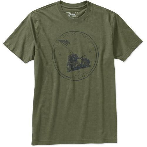 Us Marine's Flag Men's Graphic Tee