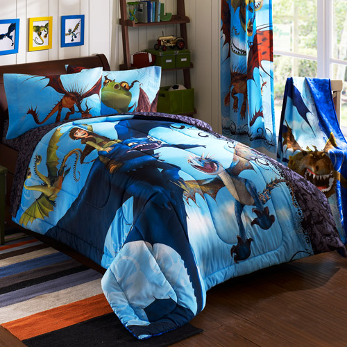 how to train your dragon bedding